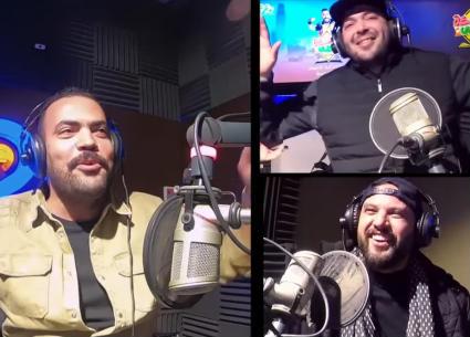 """""""أمي مسافرة""""..خالد عليش يغنيها مع فريق MTM"""