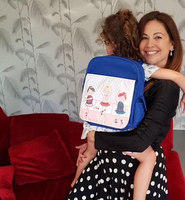 ريا أبي راشد تتحدث عن شقاوة ابنتها في Arab's Got Talent