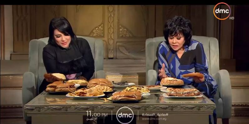 بدرية طلبة في حلقة عن الأكل مع صاحبة السعادة