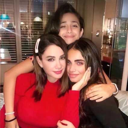 وصفة ديانا حداد للتعامل مع ابنتيها
