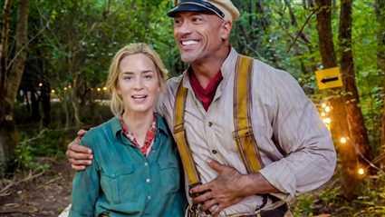 إيميلي بلنت ودواين جونسون يتنازعان صدارة الملصق الدعائي لـ Jungle Cruise