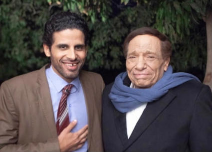 """حمدي الميرغني ينشر إعلان مسلسل """"فلانتينو"""" لعادل إمام"""
