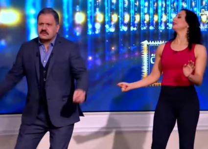 """شاهد..إدوارد يجرب رقصة الـ""""بوجالو"""""""