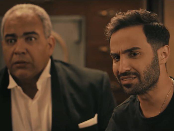 وصلة من الضحك بين أحمد فهمي وبيومي فؤاد