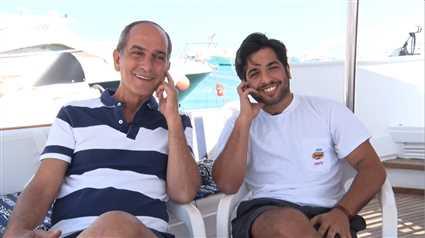 شاهد الحوار الأول مع هشام سليم وابنه نور