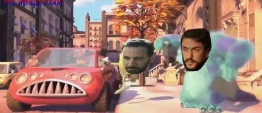 عربية عماد.. فيديو ساخر لأبطال شركة المرعبين المحدودة