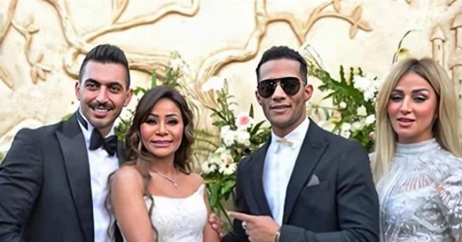 فيديو- تجهيزات حفل زفاف شقيقة محمد رمضان