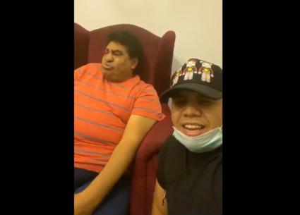 """عمر كمال في جلسة """"سلطنة"""" مع أحمد عدوية"""