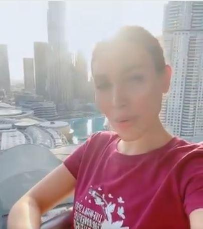 فيديو- يارا تغني من دبي للبنان القديم