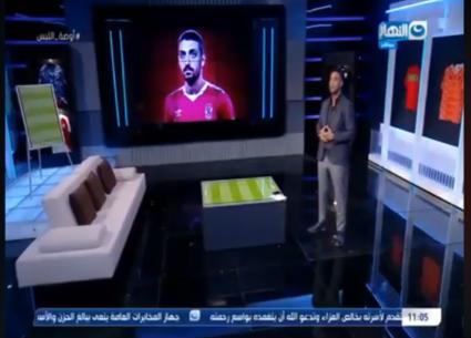 """أحمد حسام """"ميدو"""" يحتفل بنجاح أولى حلقات """"أوضة اللبس"""""""