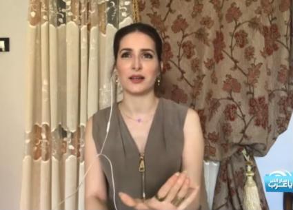 كنزة مرسلي تعزي أهالي ضحايا فاجعة بيروت
