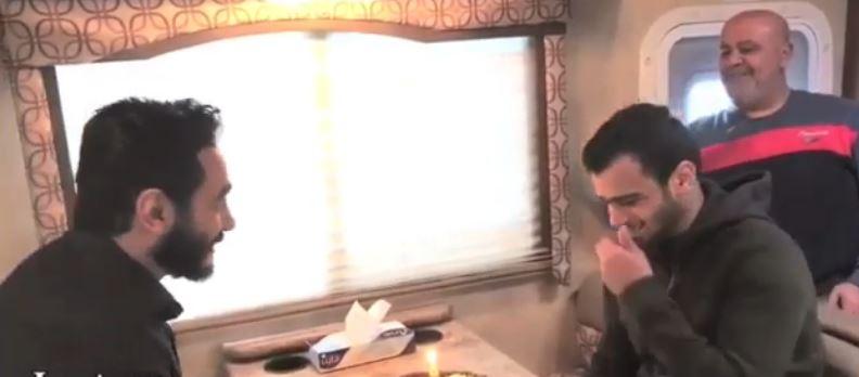 فيديو- حلم مصطفى حفناوي الذي حققه تامر حسني