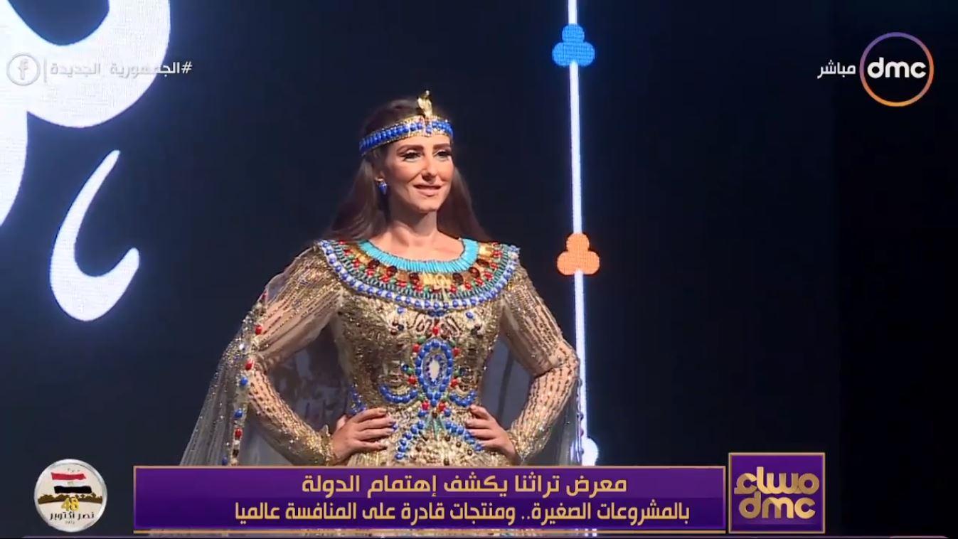 حنان مطاوع عن الفستان الفرعوني: تراثنا غني من المصري القديم للقبطي والإسلامي thumbnail