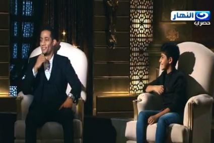 """الطفل محمد نبيل يبهر محمد رمضان ونجوى إبراهيم بأدائه لأغنية """"كل واحد"""""""