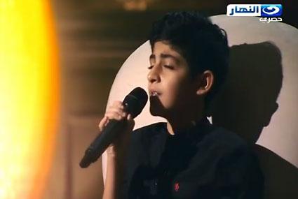 """الطفل محمد نبيل يغني """"كدة يا قلبى"""" لشيرين"""